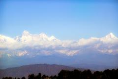 Ansicht des Himalajas Lizenzfreie Stockfotografie