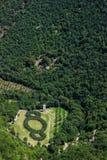 Ansicht des Holzes von St Francis in Assisi Lizenzfreies Stockfoto
