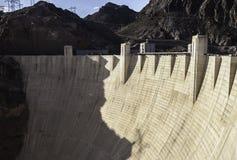 Ansicht des Hooverdamms, Nevada lizenzfreie stockbilder