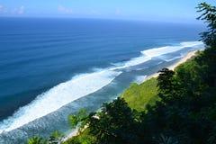 Ansicht des Indischen Ozeans Stockfotografie