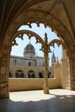Ansicht des Jeronimos Klosters Stockbilder