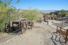 Ansicht des Kalikos, Kalifornien, San Bernardino County Stockbild