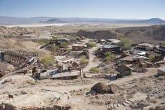 Ansicht des Kalikos, Kalifornien, San Bernardino County Stockbilder