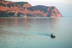 Ansicht des Kaps Ai-ya lizenzfreies stockbild