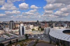 Ansicht des Kiews Lizenzfreies Stockbild