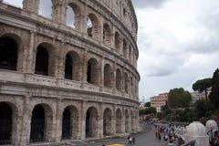 Ansicht des Kolosseums Stockbild