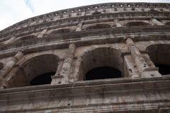 Ansicht des Kolosseums in Rom Lizenzfreies Stockbild