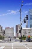 Ansicht des Kongress-Hotels Lizenzfreies Stockbild