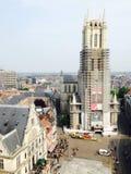 Ansicht des Kontrollturms Lizenzfreies Stockbild