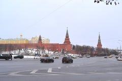 Ansicht des Kremlin Stockfoto