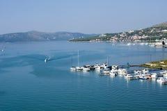 Ansicht des Kroatiens Lizenzfreies Stockbild