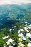 Ansicht des KUR-Flusses Lizenzfreie Stockfotografie