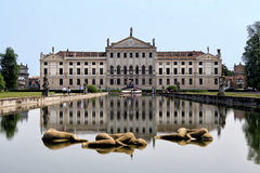 Ansicht des Landhauses Pisani, Stra, Italien Lizenzfreies Stockfoto