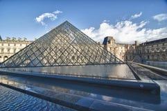 Ansicht des Luftschlitz-Museums in Paris stockbild