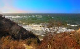 Ansicht des Meeres stockfotos