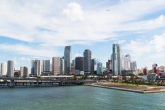 Ansicht des Miamis Lizenzfreies Stockbild