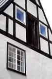 Ansicht des mittelalterlichen Gebäudes in Riga, Lettland Lizenzfreie Stockfotografie