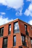 Ansicht des modernen Gebäudes in Riga, Lettland Lizenzfreie Stockfotografie
