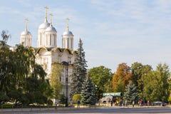 Ansicht des Museums des Moskaus der Kreml, Moskau, Russland lizenzfreie stockbilder