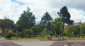Ansicht des Mutter ` s Parks gelegen auf 12 De Abril Avenue Lizenzfreie Stockbilder
