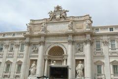 Ansicht des Palazzo Poli in Rom, Italien Lizenzfreies Stockbild