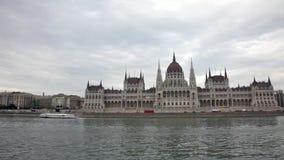 Ansicht des Parlamentsgebäudes stock video footage