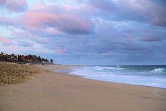 Ansicht des Pazifischen Ozeans in Los Cabos Mexiko Lizenzfreie Stockfotografie