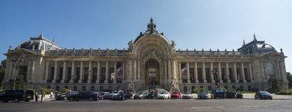 Ansicht des Petit Palais Stockbild