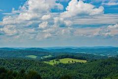 Ansicht des Piemont-Tales - 2 lizenzfreies stockfoto
