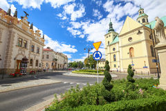 Ansicht des Rzeszow polen Stockfotos
