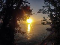Ansicht des Schwarzen Meers Stockbild
