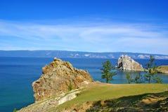 Ansicht des Sees Stockbilder
