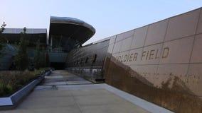 Ansicht des Soldat-Feldes in Chicago, Illinois stock video