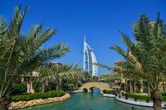 Ansicht des Souk Madinat Jumeirah lizenzfreie stockfotos