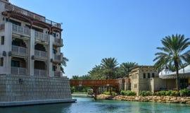 Ansicht des Souk Madinat Jumeirah lizenzfreie stockbilder