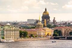 Ansicht des St Petersburg Lizenzfreies Stockbild