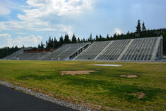 Ansicht des Stadions Stockbilder