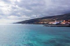 Ansicht des Stadt EL Medano, Teneriffa-Insel, Spanien lizenzfreie stockbilder