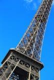 Ansicht des Stocks des Eiffelturms zweiter Lizenzfreie Stockfotografie