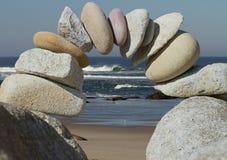 Ansicht des Strandes Lizenzfreies Stockfoto
