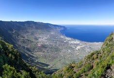 Ansicht des Tales EL Golfo auf dem Insel EL Hierro Lizenzfreie Stockfotos