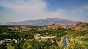 Ansicht des Taxila-Bauerben, Pakistan lizenzfreie stockbilder