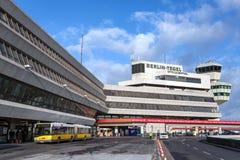 Ansicht des Tegel-Flughafens Lizenzfreies Stockfoto