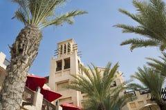 Ansicht des Teils Madinat Jumeirah Dubai Stockfoto
