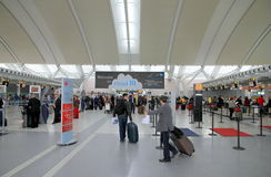 Ansicht des Torontos Pearson Airport Lizenzfreies Stockbild