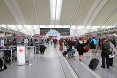 Ansicht des Torontos Pearson Airport Stockbild