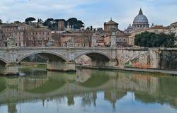 Ansicht des Vatican Stockfotografie