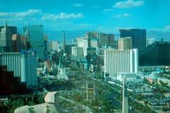 Ansicht des Vegas-Streifens Stockfotos