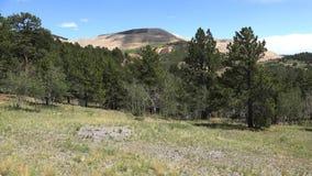 Ansicht des Victor Gold Mine Above Cripple-Nebenflusses Colorado 4K stock video