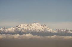 Ansicht des Vulkans Iztaccihuatl, Mexiko Lizenzfreie Stockfotografie